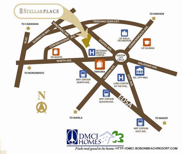 Stellar Place Location Map