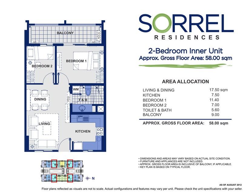 Sorrel 2 Bedroom