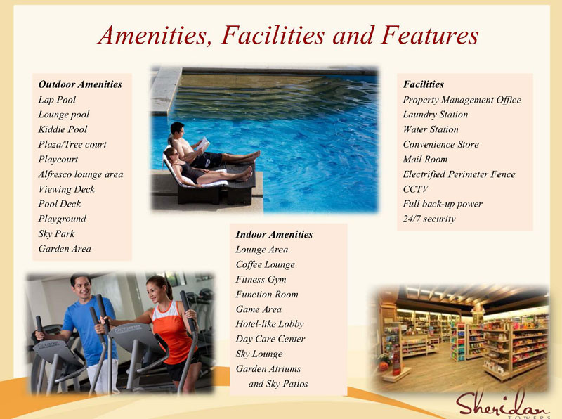 Sheridan Towers Amenities