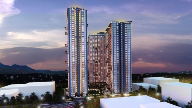 Lumiere Residences LMR_Bldg+Facade+04+Night