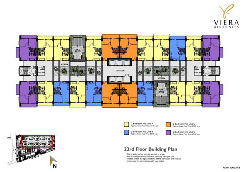 Viera Building Floor Layout 3