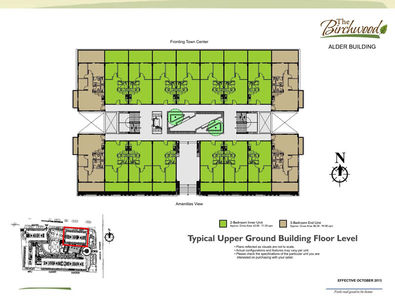 The Birchwood Residences Building Floor Plan