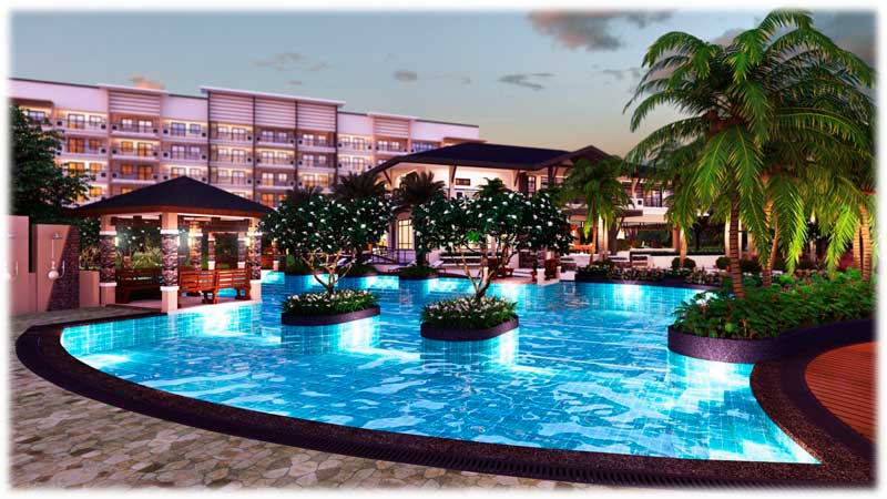 Asteria Residences Lounge Pool