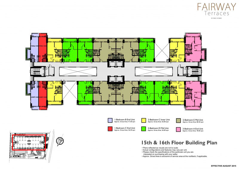 Fairway Terraces Floorplan