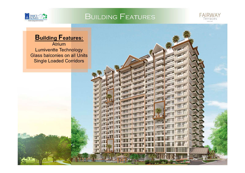 Fairway Terraces Building Features