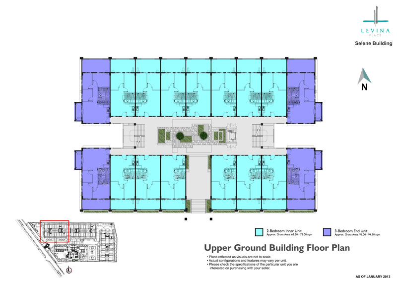 Levina Place Floor Plan
