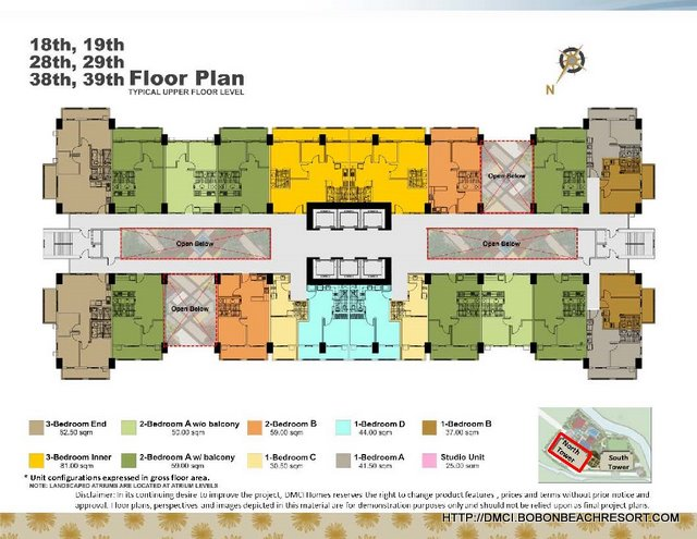 Zinnia Towers Floorplan