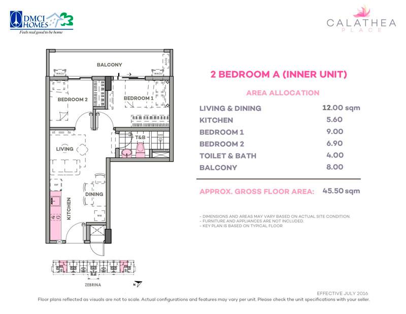 Calathea Place 2-BR-A