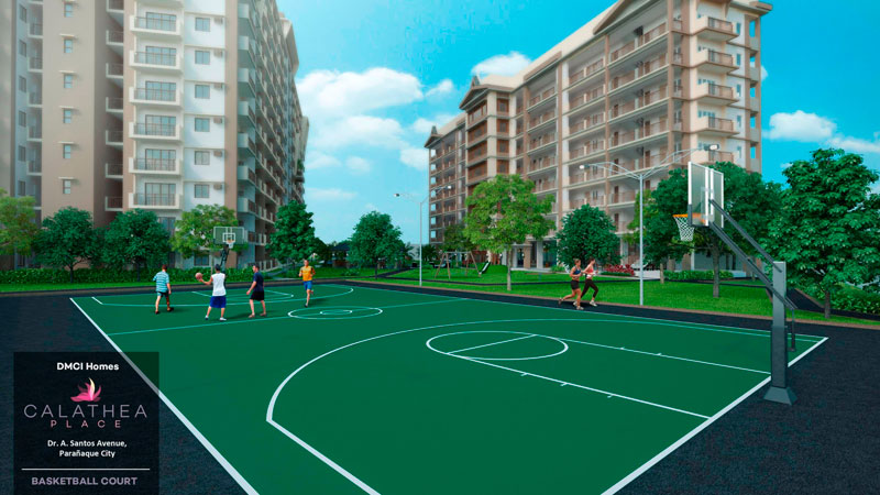 Calathea Place Basketball-Court