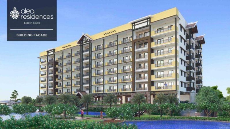 Alea Residences Building Facade