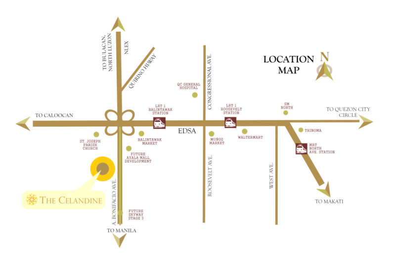 the-celandine-location-map